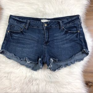 Altar'd State Cut Off Denim Jean Shorts B712